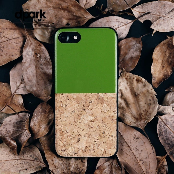 Cork & Leather iPhone Case