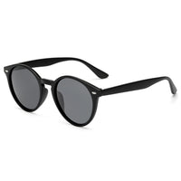 Retro Round Keyhole Sunglasses