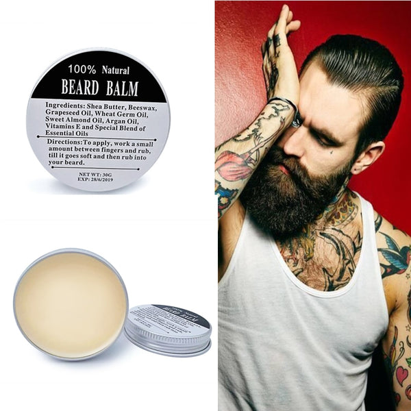 Organic Argan Oil Beard Balm