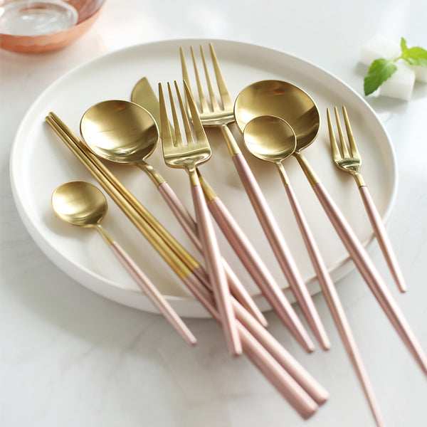 Royal Pink Cutlery