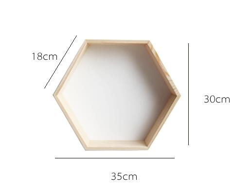 Honeycomb Kids Wall Shelves
