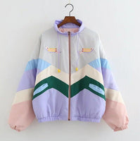 Retro Color Block Jacket