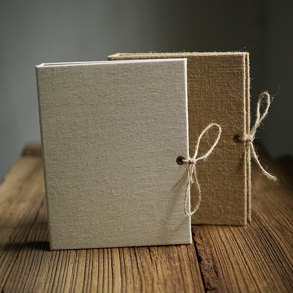 Brushed Burlap Craft Notebook