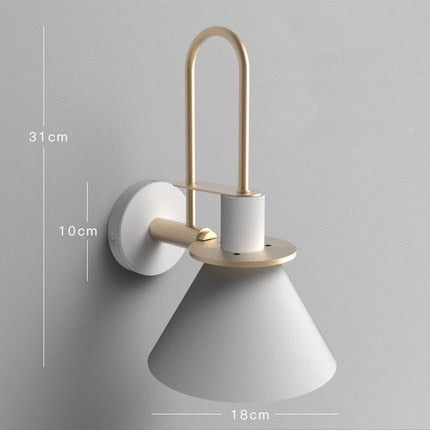 Wall Mounted Scandi Down Light Fixture