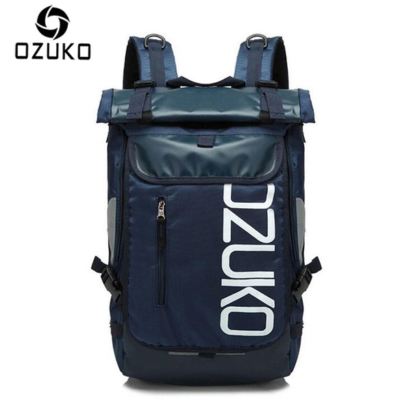 Ozuko Rolldown Backpack with Laptop Sleeve