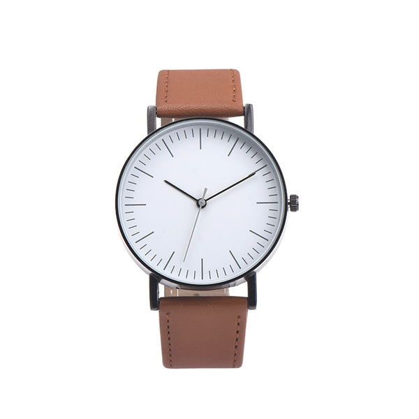 Minimal Plain Face Watch