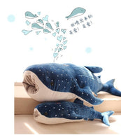Giant Blue Whale Plush Toy