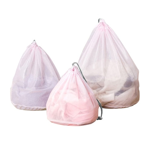 Mesh Laundry Bag Set