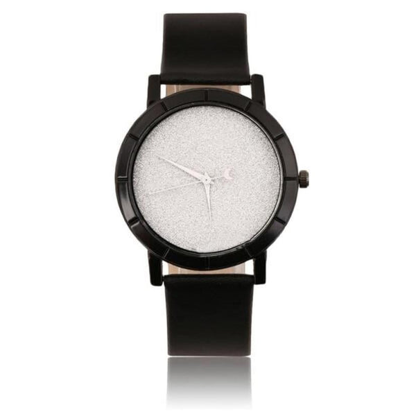 Minimalist White Quartz Watch