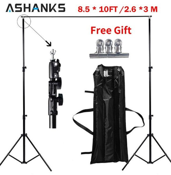 10ft Photography and Video Backdrop with Carry Bag