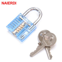 Transparent Locksmith Practise Padlock
