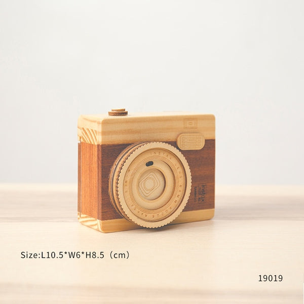 Kids Wooden Camera Toy