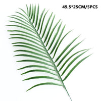 Faux Palm Fronds