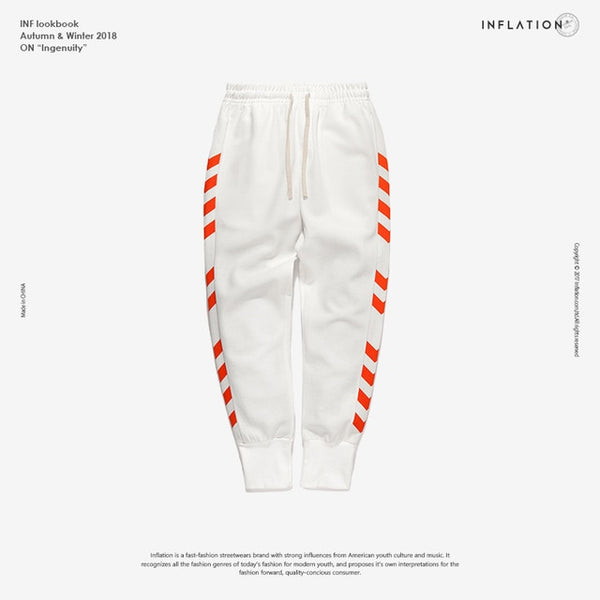 Chevron Side Stripe Sweatpants