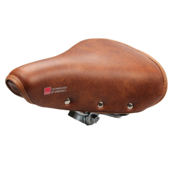 Vintage Leather Bike Saddle