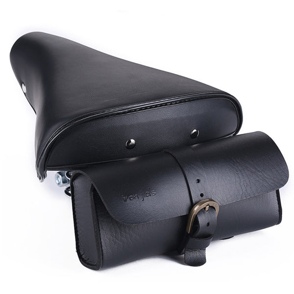 PU Leather Bike Tail Bag