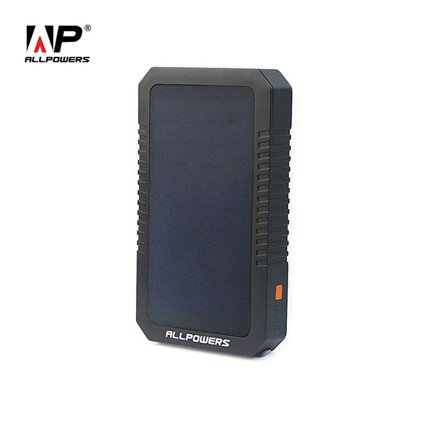 Dual Port Solar Chargeable Power Bank