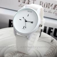 Whiteout Round Face Miler Watch
