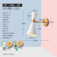 Simple Hourglass Gold Wall Light