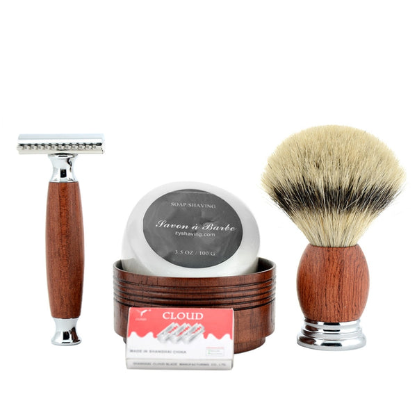 Double Edge Safety Razor Kit