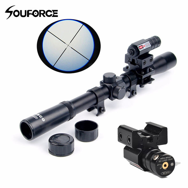 Red Laser Sight Riflescope