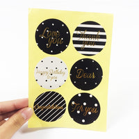 DIY Gift Card Stickers