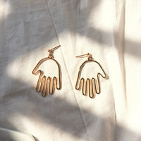 Gold Caso Drop Earrings