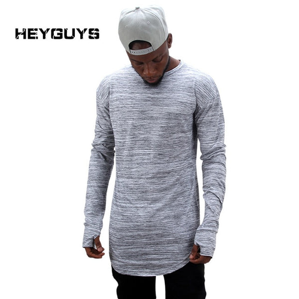 Mens Oversize Long Sleeve Tee