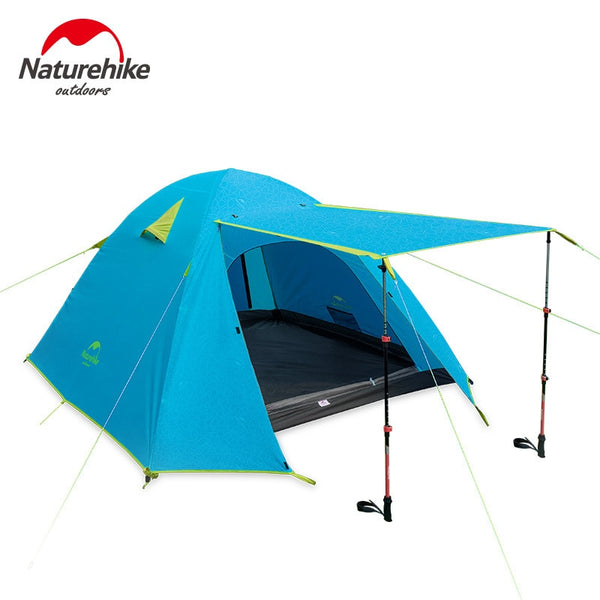 Waterproof 2-4 Person Pup Tent