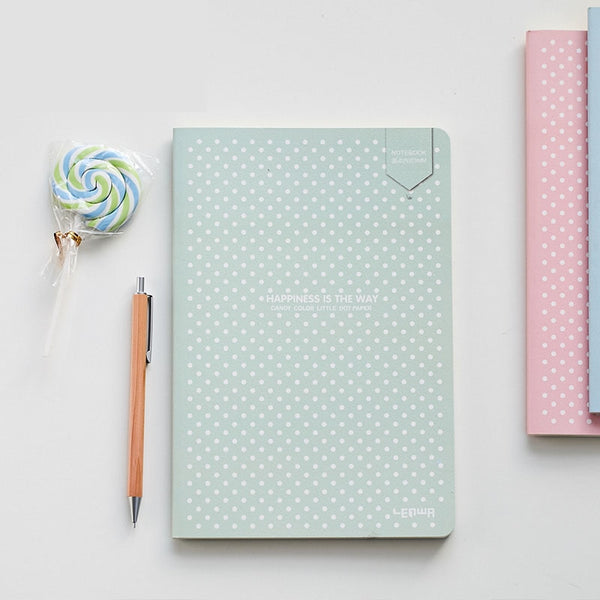 Pastel Dot Grid Notebook