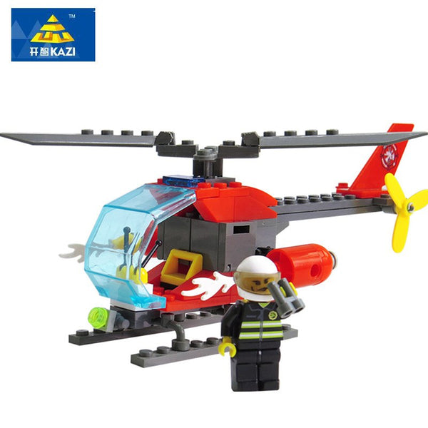 Helicopter Block Toy
