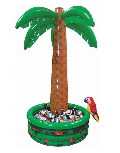 Jumbo Inflatable Palm Tree Drinks Holder