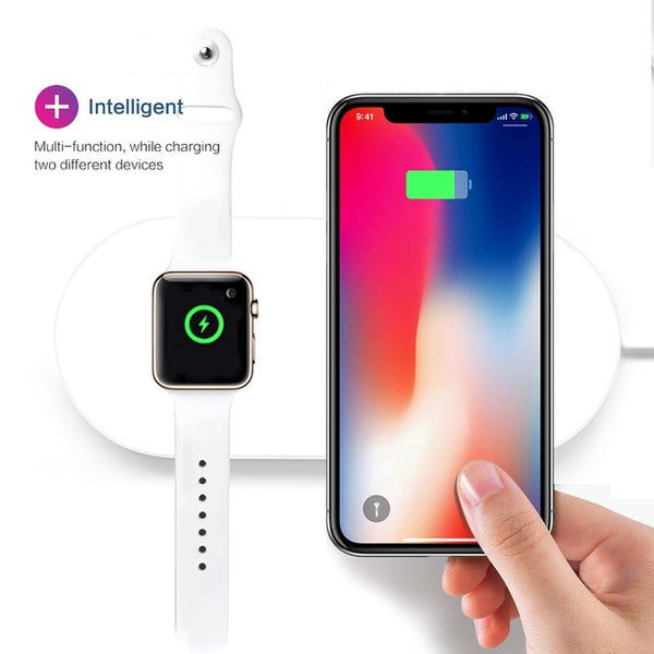 Iphone & Apple Watch Dual Charging Pad