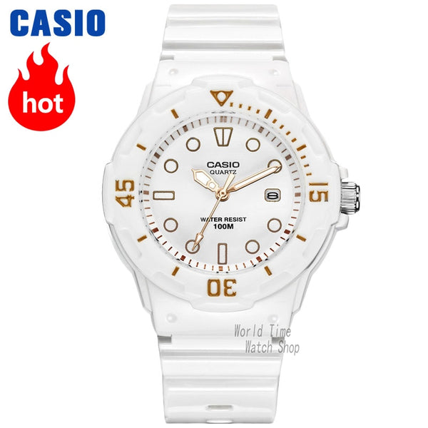 White Gold Casio Watch