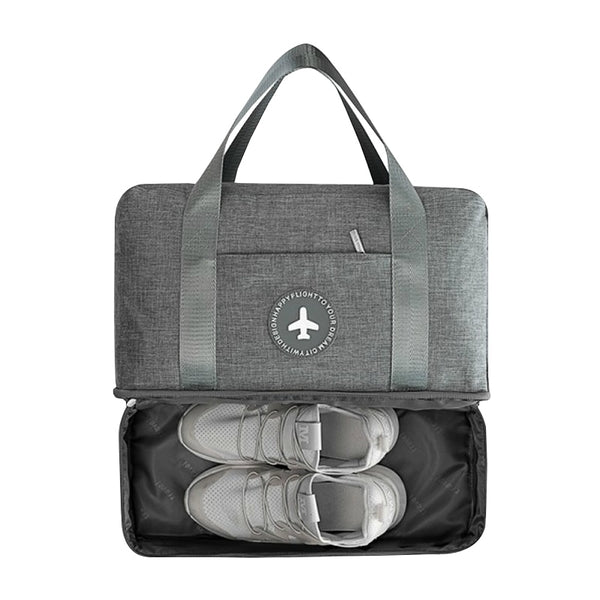 Travel Bag With Shoe Pouch