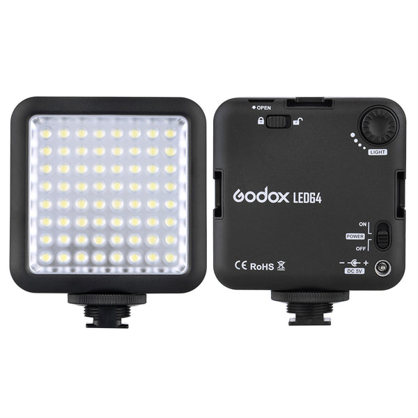 64 LED Video Light for DSLR Camera