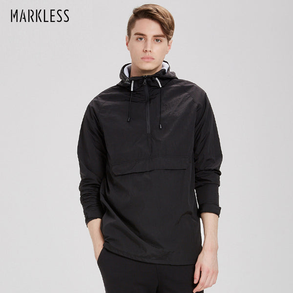 Pullover Waterproof Windbreaker