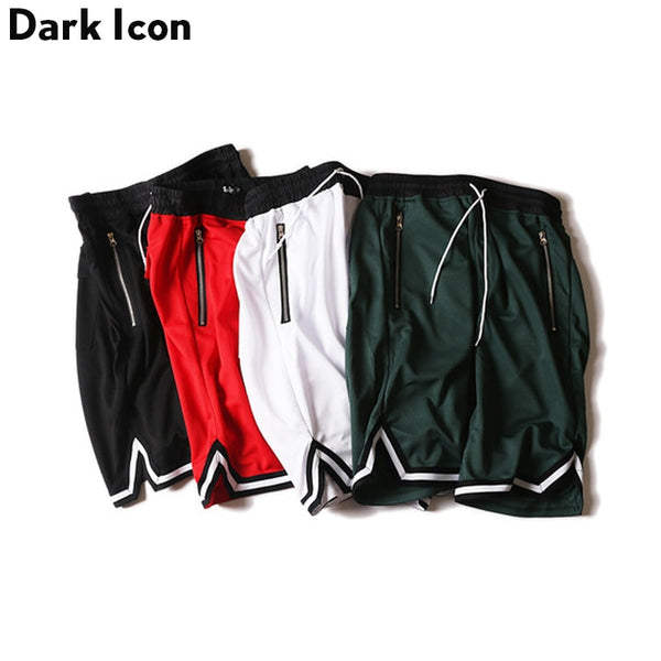 Contrast Drop Crotch Shorts