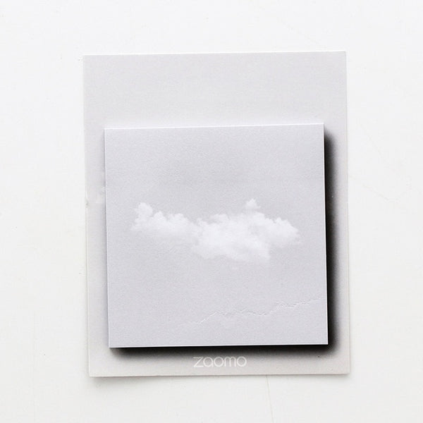 Cloudy sky sticky notes