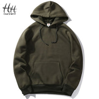Mens Thick Poly Hoodie