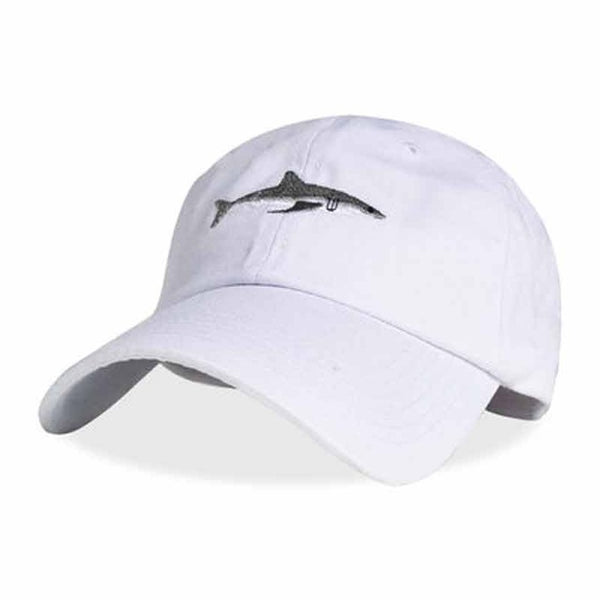 Shark Embroidered Dad Cap