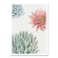 Succulent Wall Prints
