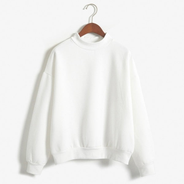 Womens Cotton Pullover Sweater