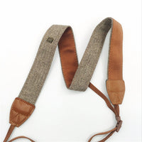 Vintage Cotton Weave Camera Strap