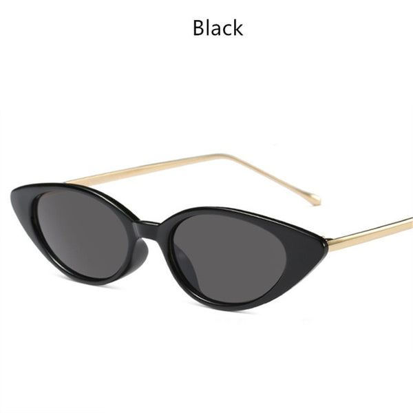 Lux Oval Cat Eye Sunglasses