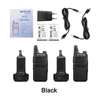 Walkie Talkie 4 Pack