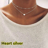 Elegant Love Heart Choker