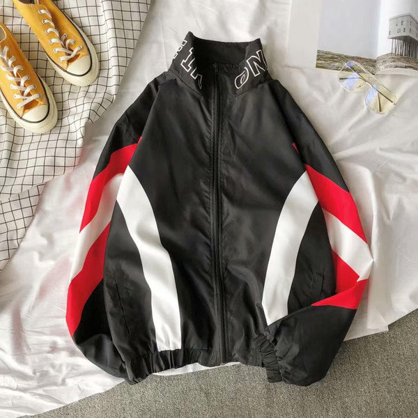 Patch Color Track Jacket