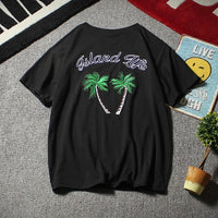 Embroidered Island Life Tee