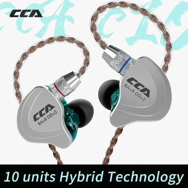CCA In Ear Monitor Headphones